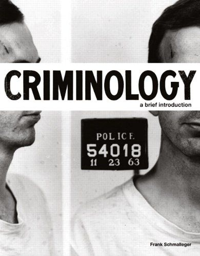 Bestseller books online Criminology: A Brief Introduction Frank Schmalleger  http://www.ebooknetworking.net/books_detail-0132340690.html