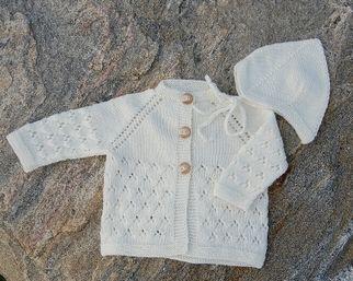 1109: Mayflower Babytrøje og Djævlehue - Mayflower strikkegarn a/s Brønderslev