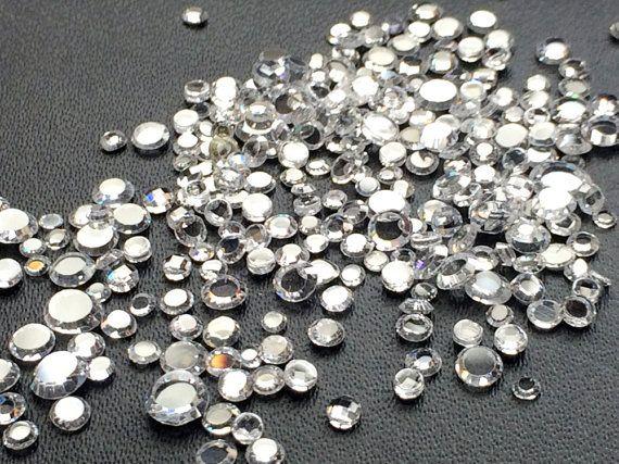 100 Pcs Zirconia CZ Flat Back Zirconia 2-4mm by gemsforjewels