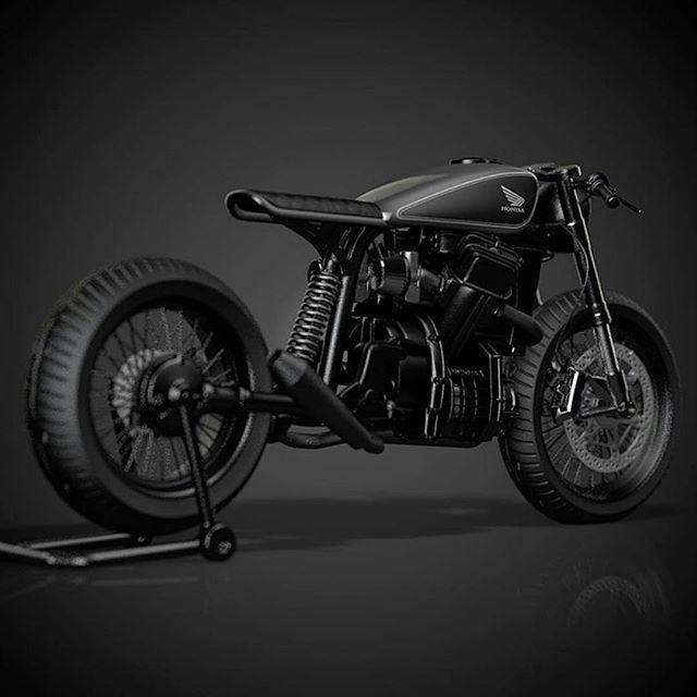 CAFE RACER @caferacergram Tag: #caferacergram #  CX500 by Ziggy Moto #ziggymoto…