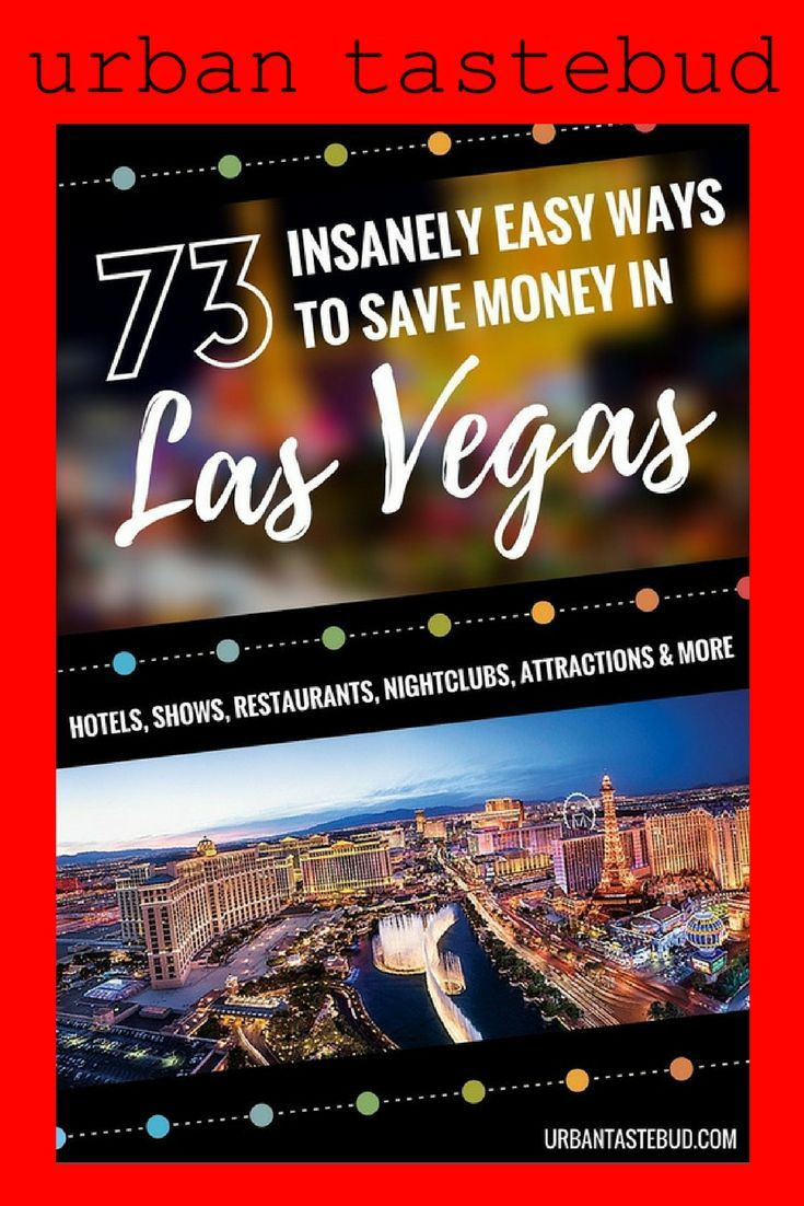 How To Save Money In Vegas 2017