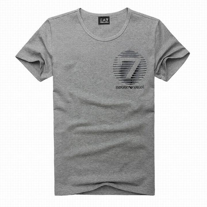 polo ralph lauren outlet uk EA7 Emporio Armani Stripe 7 Logo Crew Neck Short Sleeve T-Shirt Grey http://www.poloshirtoutlet.us/