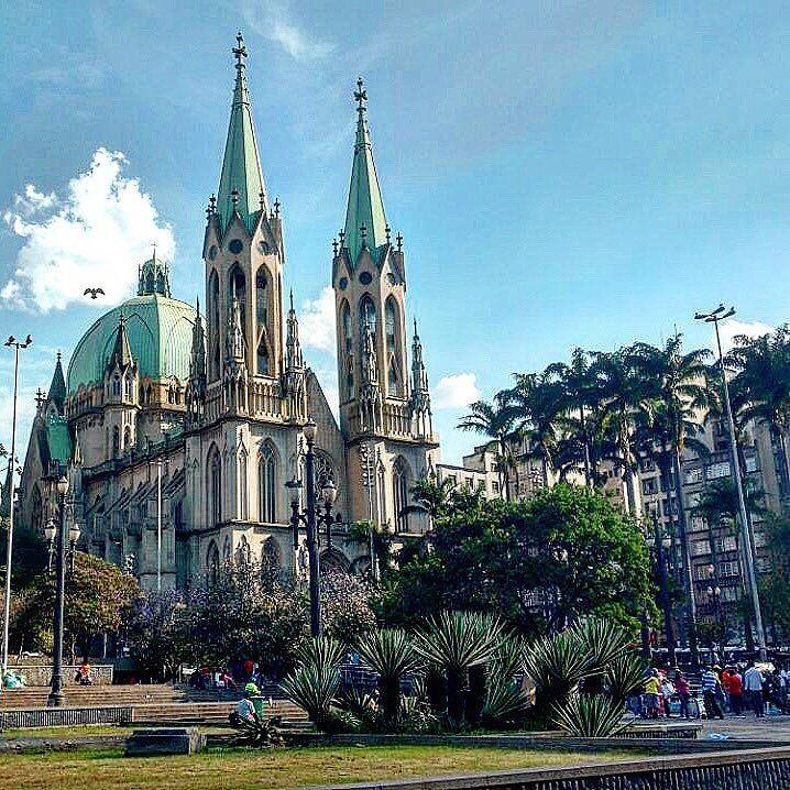 Catedral da Sé em SP por @camilapassetti