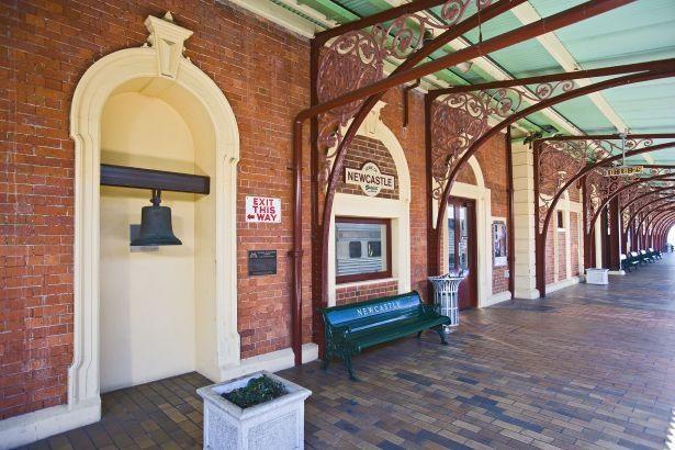Railway Station Newcastle NSW