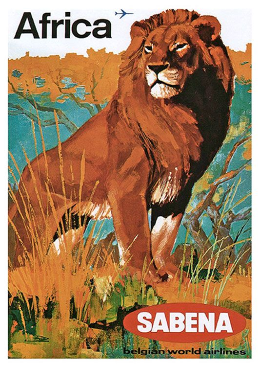 African Vintage Poster, available at 45x32cm.This poster is printed on matt coated 350 gram paper.