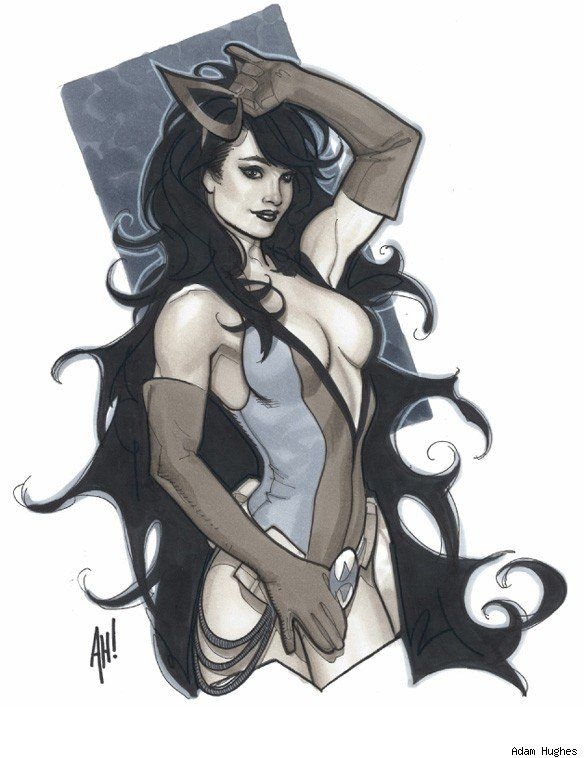 The Women Of Dc Comics Ink In Adam Withers S Dc Comics: 100+ Best Images About Adam Hughes On Pinterest