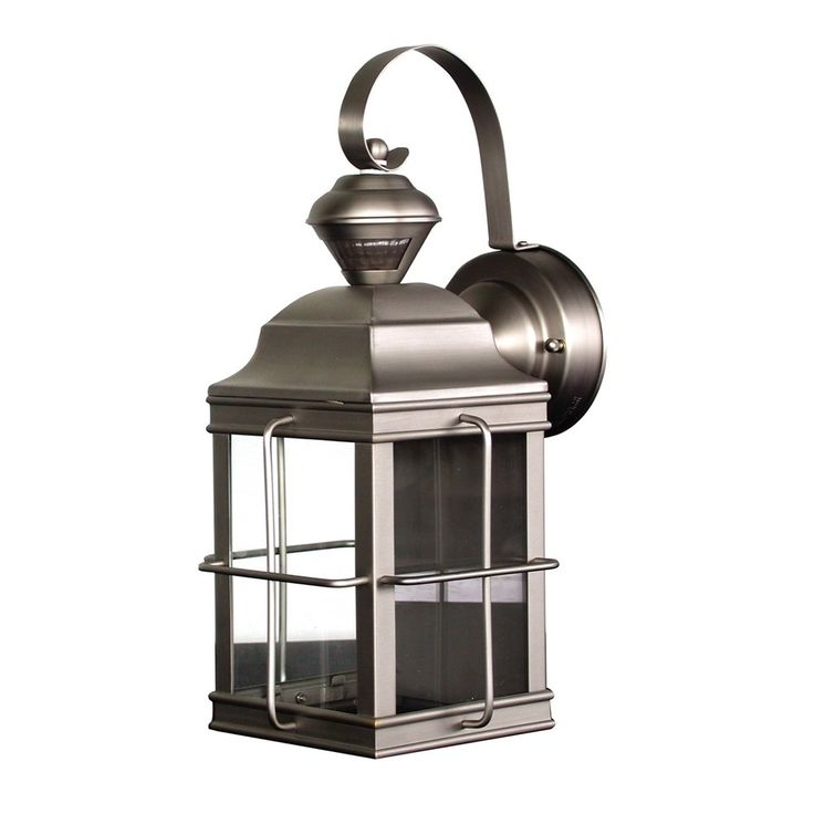 Heath Zenith SL 4144 Motion Activated New England Carriage Signature  Decorative Outdoor Sconce
