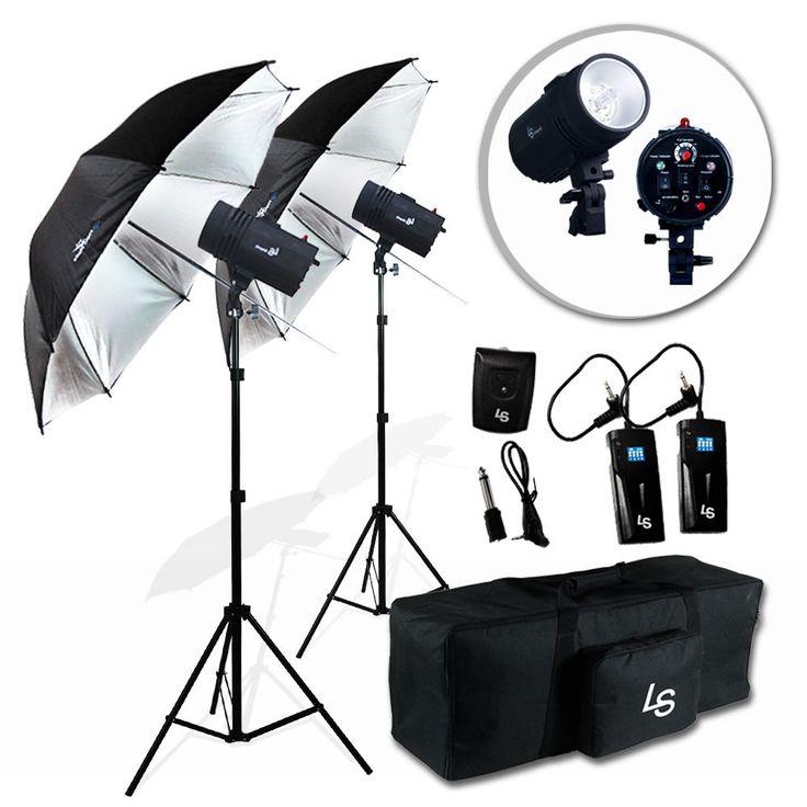 Photography Studio Photo Flash Kit 2 x 400W Strobe Light Umbrella Lighting kit  sc 1 st  Pinterest & Best 25+ Photo lighting kits ideas on Pinterest | Photography ... azcodes.com