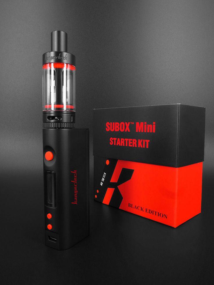 Kanger SUBOX Mini Black Starter kit Pre-order now, Please do not mix t – KangerTech