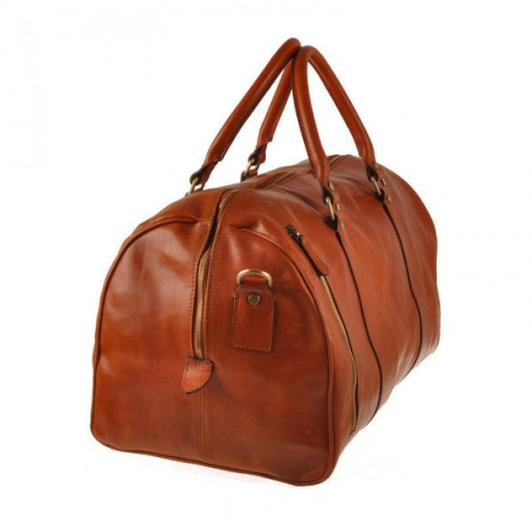 Arthur Mahogany Italian Leather Large Travel Weekender Duffle Holdall... ($515) ❤ liked on Polyvore featuring men's fashion, men's bags, mens overnight travel bag, mens overnight duffle bag, mens holdall bag, mens leather overnight bag and mens duffle bags
