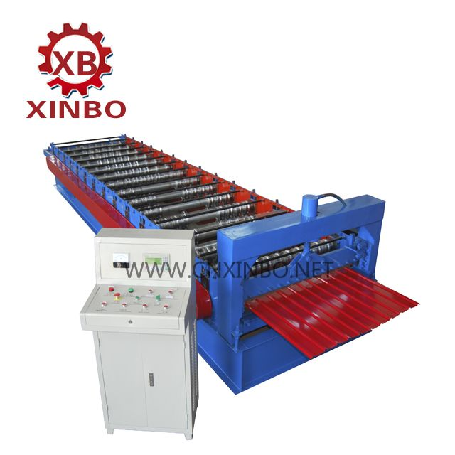 Corrugatedrollingmachine Corrugated Rolling Making Machine For Aluminum Plate And Galvaznied Steel Plate About Wooden Packaging Corrugated Wall Roll Forming
