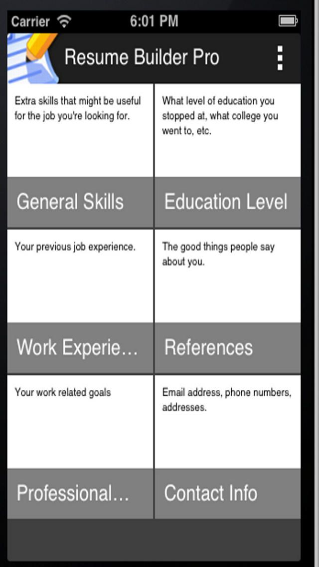 39 best Resume CV Apps images on Pinterest Curriculum, Resume - best resume building websites