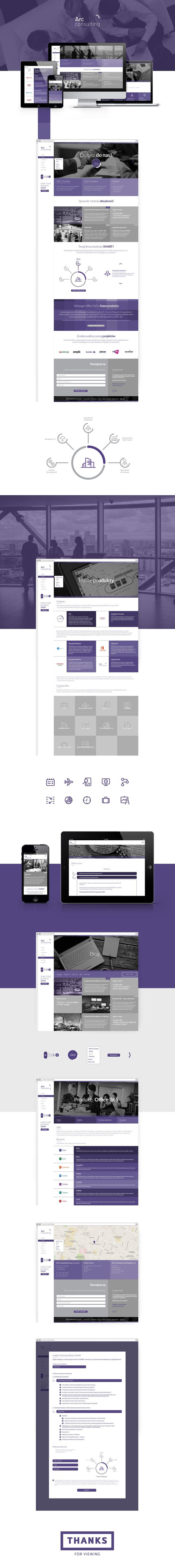 ARC consulting #design #UI #website #web #webdesign #pleo