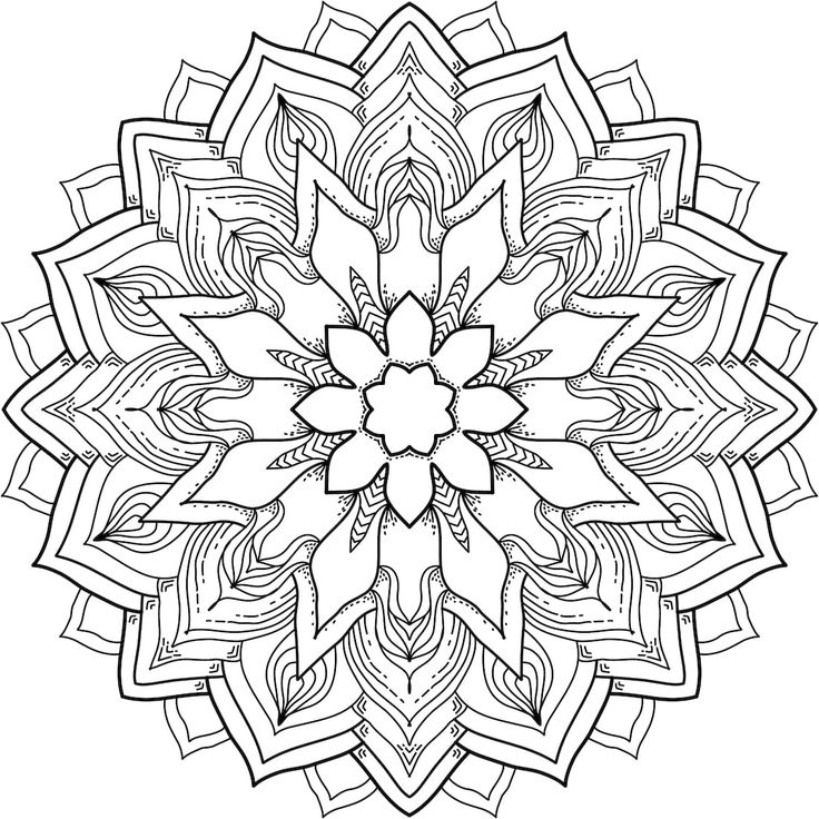 Flower Power - a free printable mandala coloring page. Many more available for free, too. https://mondaymandala.com/m/flower-power?utm_campaign=sendible-fbp&utm_medium=social&utm_source=pinterest&utm_content=flower-power#utm_sguid=164897,c9c30066-2943-3001-c49d-8bc3e65a2c4a