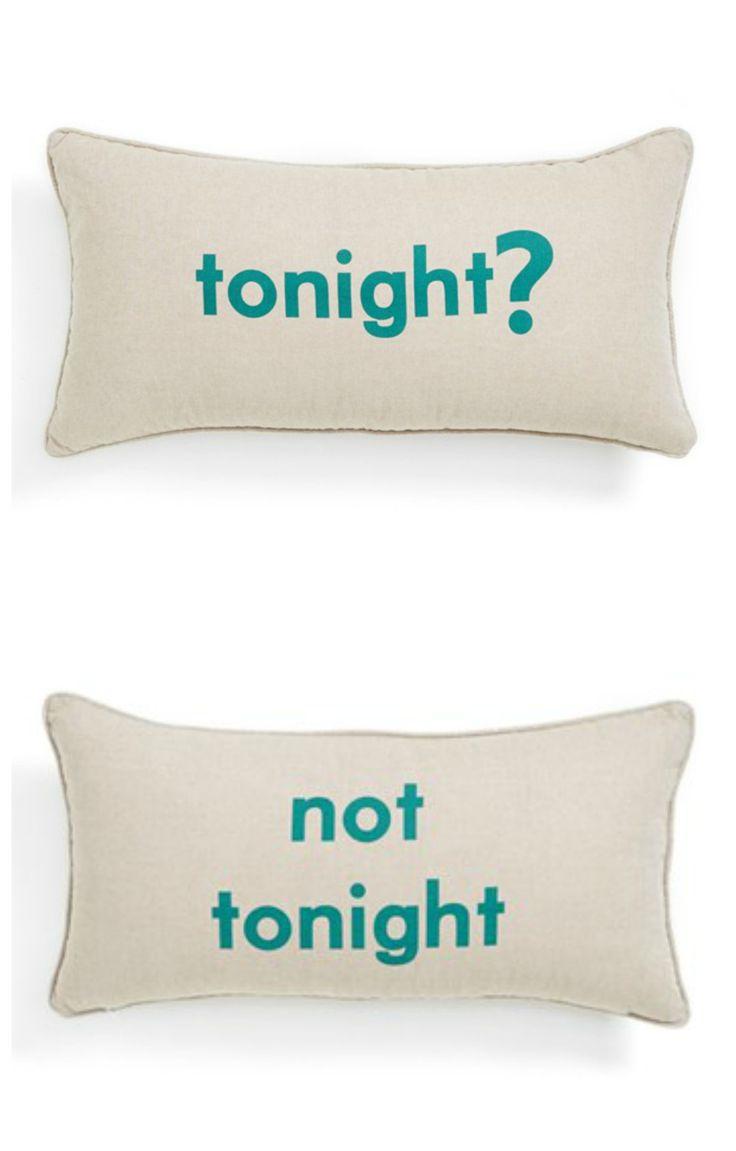 Pillow talk.clever