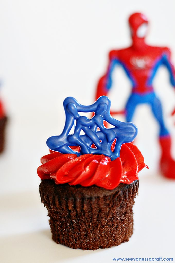 How To Make A Spiderman Pull Apart Cake