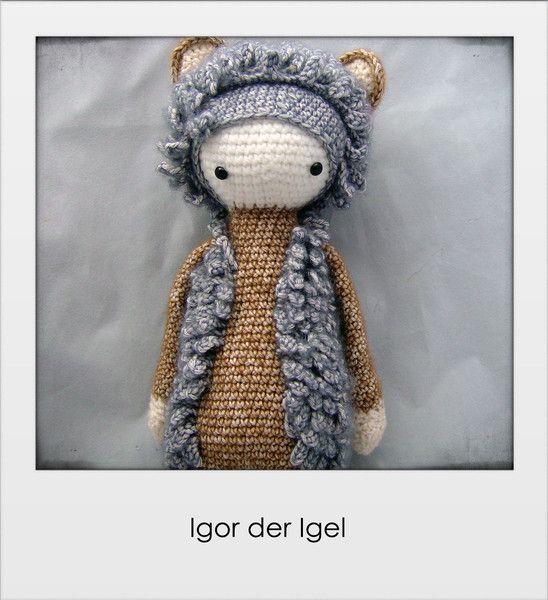 Kuscheltiere - Igor der Igel - ein Designerstück von mahepu bei DaWanda