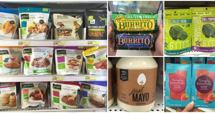 Guide to Vegan Grocery Shopping at Target These tasty vegan products hit the bull's-eye!