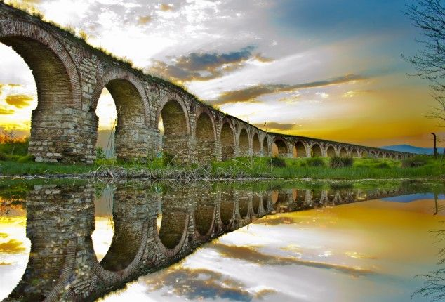 Visit Macedonia – the Ancient Country - The Aqueduct, Skopje, Macedonia