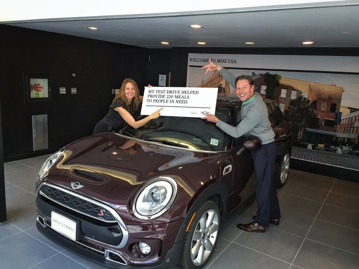 That time when MINI Dealers helped your local communities #DefyHunger by donating $20 to Feeding America for every test drive during the MINI April Invitational. They helped provide 2.5 million meals to families in need! Thanks to everyone that test drove a MINI and a shout out to all our MINI Dealers.
