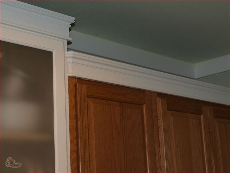 109 best images about crown molding over cabinets on for White kitchen cabinets with crown molding