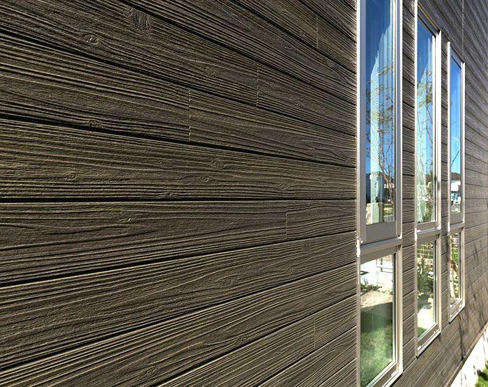 Ceraclad Faux Wood Fiber Cement Facades Modern Materials Fiber Cement Siding Fiber Cement Wood Siding Exterior