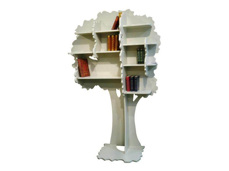 Tree Bookshelf - Louane  #decorbuddi #interestingstorage #bookshelf #treesinside