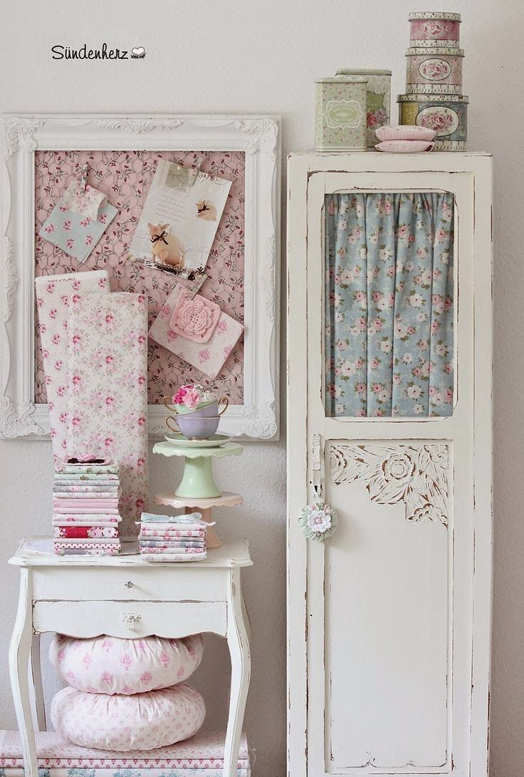 Shabby chic crafts to make - 75 Of The Best Shabby Chic Home Decoration Ideas