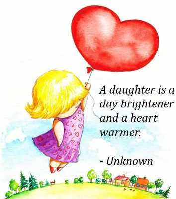 Funny I Love You Daughter Quotes : ... Daughter Quotes Will Touch Your Soul Daughter quotes, About mother