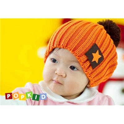 Five star style Knitting Wool Baby's Caps