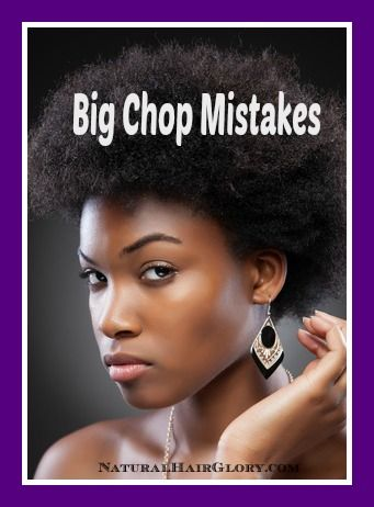 Big Chop | Natural Hair Glory | Natural Hair Blogs