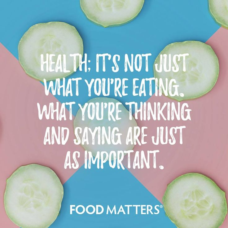 Thoughts and words are just as powerful as the food your are eating.  www.foodmatters.com #foodmatters #quotes