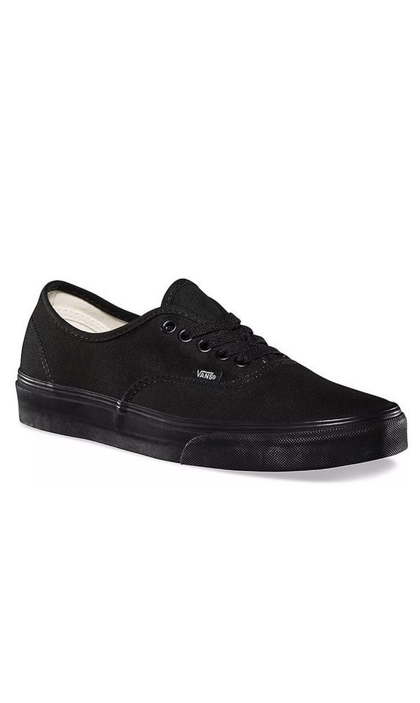 837e09599d5 Vans Unisex Authentic Shoes Canvas Black Black Core Classic Sneakers  VN000EE3BKA  fashion  clothing  shoes  accessories  unisexclothingshoesaccs  ...