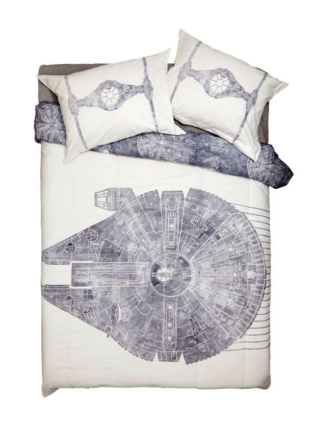 Star Wars Millennium Falcon Full/Queen Comforter Set
