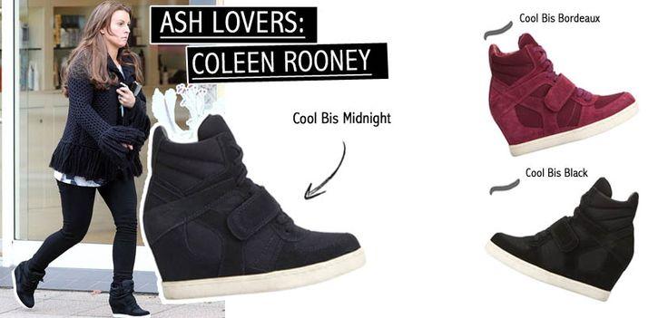 Coleen Rooney, moglie di Wayne Rooney nonchè presentatrice televisiva, indossa le Cool Bis Midnight nel suo tempo libero! #ashitalia