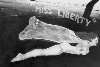 B-24 Miss Liberty Nose Art | by International Historical Research Associates