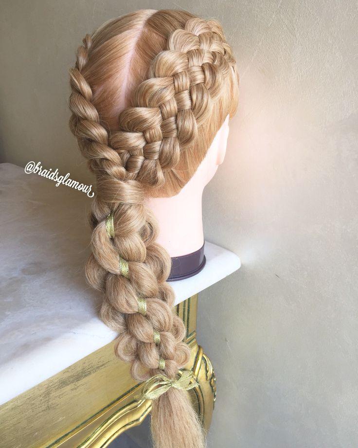Five strand braids