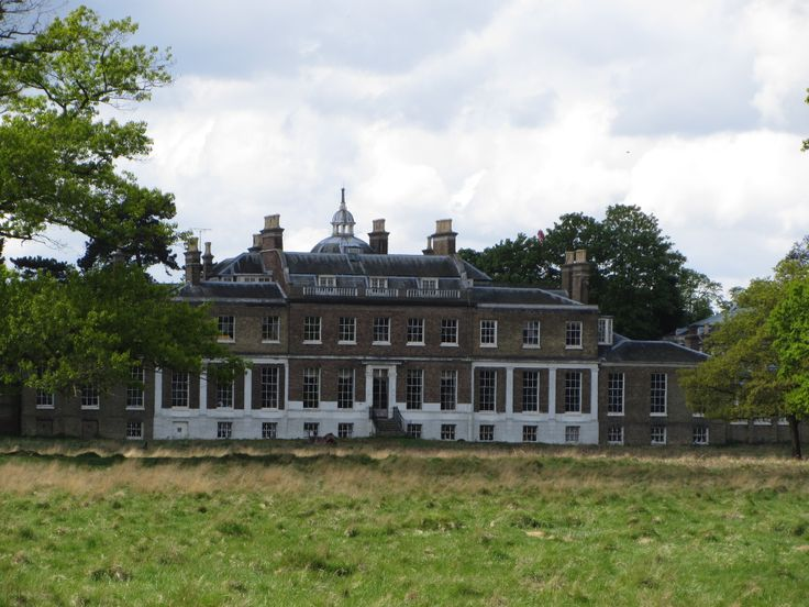 Hampton Court House From Bushy Park