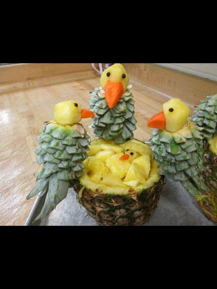 Precious fruit arrangement.   Centerpiece