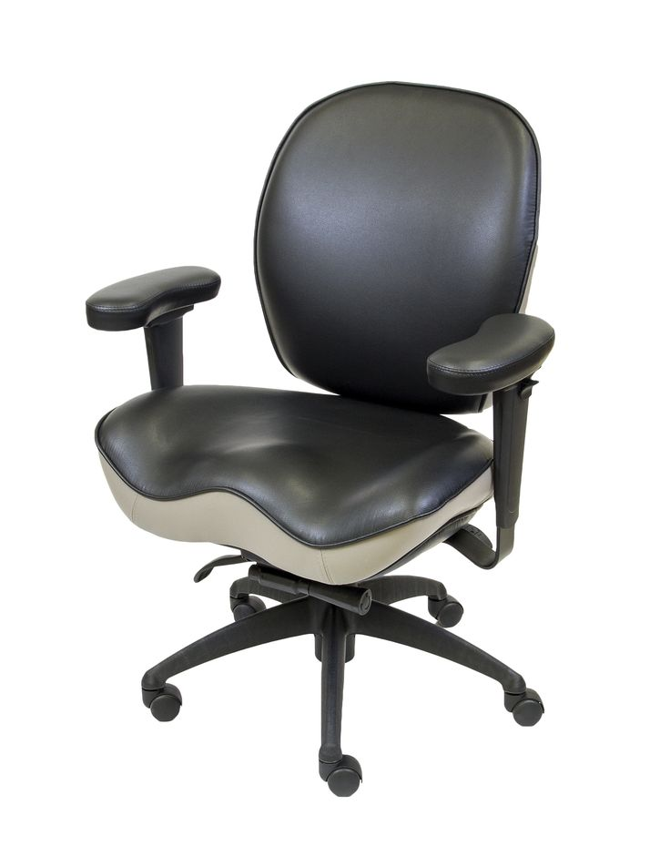 LIFEFORM 8794 Management Executive with Two Tone Upholstery and Deep Contour Seat