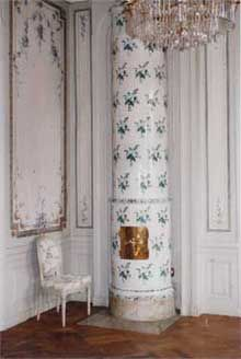A private tour of Sturehof, known for its beautiful Gustavian interiors and large collection of Swedish tiled stoves.
