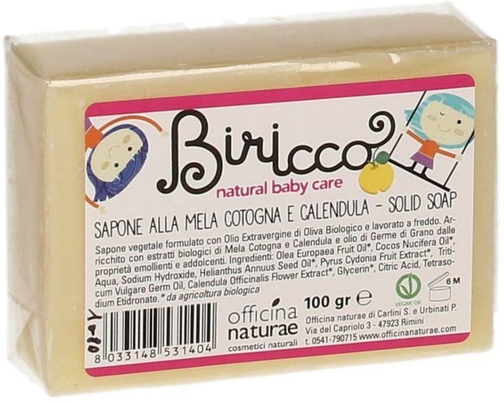 Biricco Jabón - Membrillo & Caléndula - 100 g