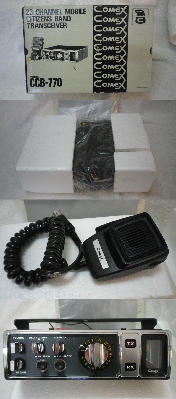 CB Radios: 1970 S Vintage Citizens Band Comex Ccb-770 23 Channel Cb Radio New In Box -> BUY IT NOW ONLY: $64.99 on eBay!