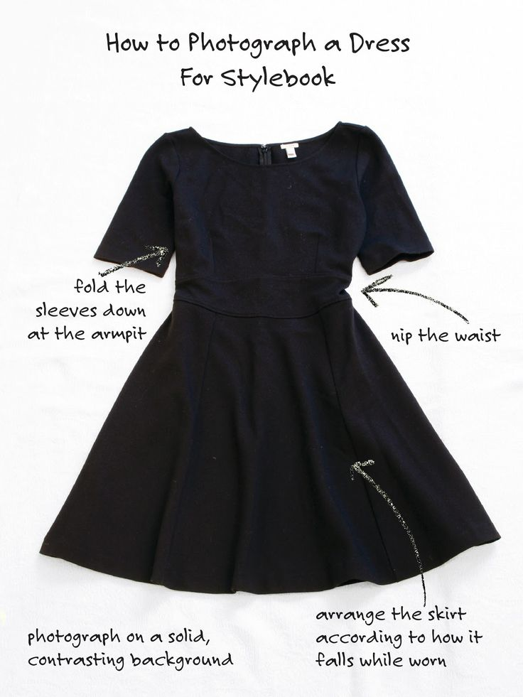 How to photograph a dress for your Stylebook closet #styling #phototip #app