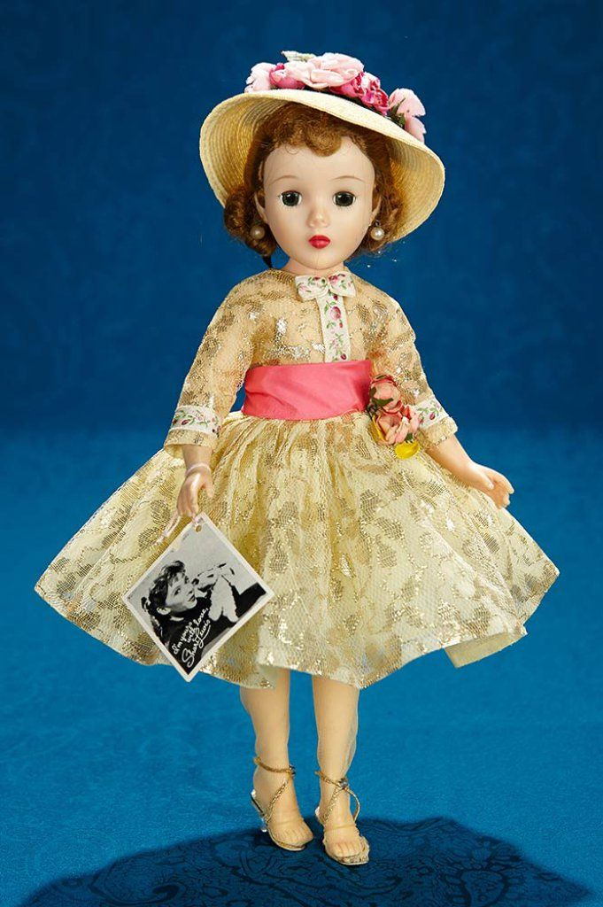 """January 24, 2018. 1950s American Dolls Auction at theriaults.proxibid.com 