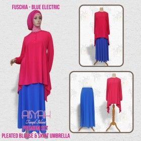Busana Muslim - Pleated Blouse