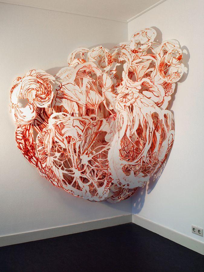 Joris Kuipers 'Intensive Care'(2008) #ravenectar #art #installation #modern #contemporary #design
