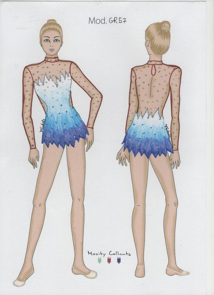Desenhos exclusivos para modelos de apresentação, competição. Ginástica Rítmica, Patinação, Ballet, Dança.