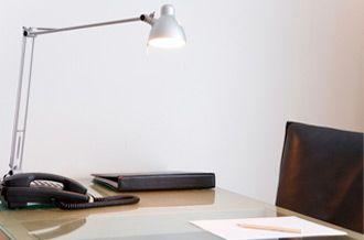 La iluminación apropiada para trabajar mejor