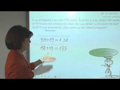 Clasa a treia: Tu stii sa rezolvi aceasta problema? - YouTube